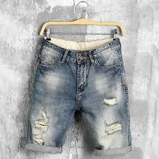 DIMUSI <b>summer denim shorts male</b> jeans men jean shorts bermuda ...