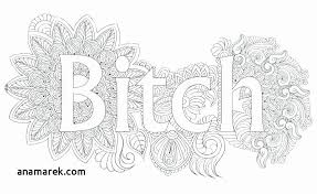 Curse Word Coloring Pages Elegant Adult Coloring Page Words Swear