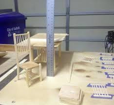 how to make doll furniture. How To Make Doll Furniture Scale Table And Chairs Under Construction .