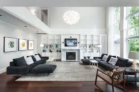 Neutral Living Room Decorating Modern Family Room Design Ideas House Room Design House Room