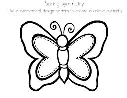 Symmetry Coloring Pages Symmetrical Medium Size Of Pattern Sheets