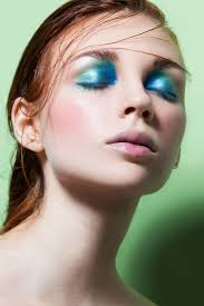 beauty editorial splash color by valentina de meo