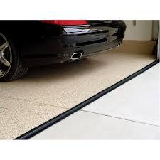 garage door threshold lowesTsunami Seal 16 Ft Black Garage Door Threshold Kit Bottom Lowes