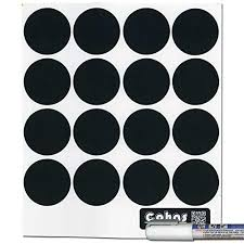 cohas chalkboard labels for libbey 4 5 ounce glass spice jars includes liquid chalk marker and 48 labels fine tip white marker