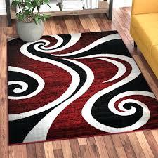 black white area rug black and white chevron rug target