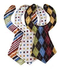 Designer Baby Necktie Bibs (Set of 3) | Bibs, Homemade baby and Babies