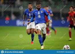Partita Di Calcio Della Lega Delle Nazioni Dell'uefa : Italia Contro Spagna  Milano Italia 6 Ottobre 2021 Fotografia Editoriale - Immagine di stadio,  ottobre: 231495976