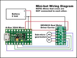 mini bot wiring diagram hack a week mini bot wiring diagram