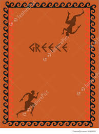 Greek Templates Illustration Of Greek Decorative Cover Template