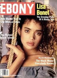 lisa bonet for ebony magazine