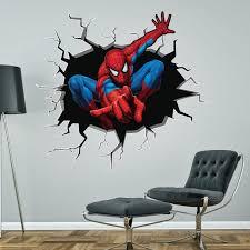 spiderman breaking smashing through
