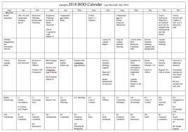 Sample Planning Calendar Annual Planning Calendar CDS CC Library 1
