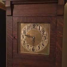 arts and crafts grand father clock on wall clock arts and crafts with antique grandfather clocks collectors weekly