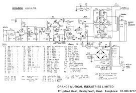the orange amp mods page graphic post 74 schematic