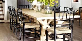 Rustic Wood Farm Dining Table Diy Farmhouse With Bench Benches Plans