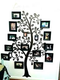family frame wall decor frames for art design ideas astonishing tree picture set stick