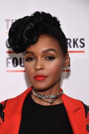 janelle monae without makeup