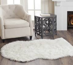 white fluffy area rug unique simple small and minimalist floor decor ideas with sofa coffee table