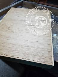 in order for the ink re fillers not to just fall through i needed to have two slats as a shelf and to accomplish this i used my miter box and miter saw