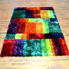 multi colored bath rugs c pink rug striped mat bright