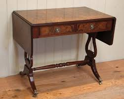 Image Renaissance Burr Walnut Drop Leaf Sofa Table Online Galleries Burr Walnut Drop Leaf Sofa Table c 1920 English From Worboys