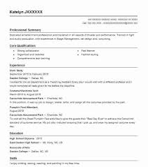 Top Stage Management Resume