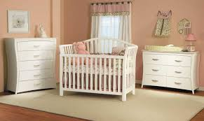 Painted White Bedroom Furniture Mid Century Baby Room Interior Design With Painted White Wooden