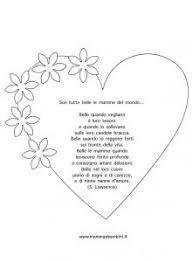 Disegno Di Una Rosa Per La Festa Della Mamma Mamma E Bambini