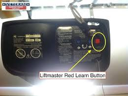 classic liftmaster security garage door opener change battery