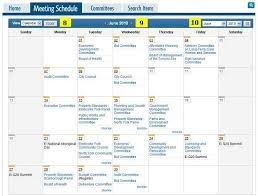 sample meeting schedule sample meeting schedule template