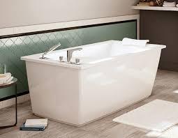 optik f 6032 freestanding bathtub maax