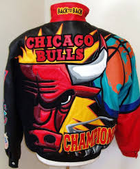 back to back chicago bulls championship jacket 10 000 usd