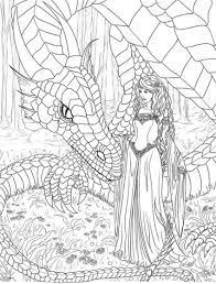 Coloring Pages Free Printable For Teens Dragon Kids To Print Adults