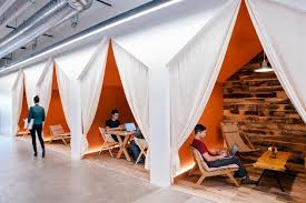 office designe. conversation nooks at airbnb u2022 the next hot thing in cool office design http designe