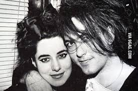 robert smith the cure and his wife they met when they were 14 better lovestory than twi no wait best lovestory ever