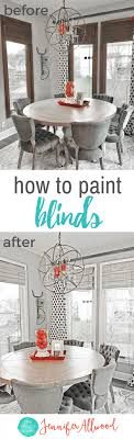 colored mini blinds. Painted Blinds \u0026 Painting Wood   Magic Brush How To Paint From Dark Colored Mini