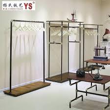 best garment rack iron clothing rack clothing display racks in the island shelf floor to best garment rack