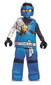 Lego Costume, Kids Ninjago Jay Prestige Outfit, Large, Age 10 - 12 years,  HEIGHT 4' 6