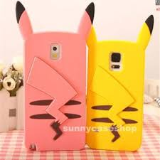 samsung galaxy s6 3d phone cases. cute 3d cartoon pikachu silicone soft case cover for samsung galaxy s6 s5 note34 3d phone cases
