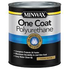 minwax satin water based polyurethane actual net contents 32 fl oz