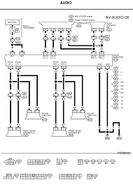 nissan radio wiring need an audio wiring diagram for a 2003 nissan xterra here is the wiring diagram you