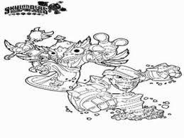 Kleurplaat Skylanders Ninjini Skylander Swap Force Coloring Pages