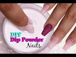 diy dip powder nails deko uñas