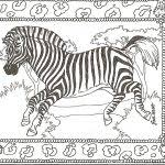 Small Picture Zebra Coloring Pages fablesfromthefriendscom