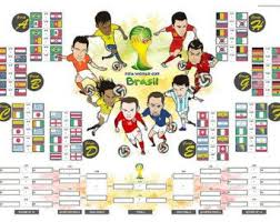 A3 Size Fifa World Cup 2014 Wall Chart Poster For Score