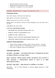 Gmdss Radio Operator Sample Resume Simple CV OF RAJ KISHORE FOR THE POST OF RADIO OFFICER 444444 44 44