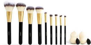 polished s 13 mega makeup brush blender set 191205042527 item barnes le