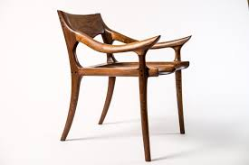 maloof inspired low back dining chair john parkinson furniture maker within chairs remodel 11