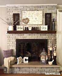 ideas for decorating fireplace mantels decor great how to decorate a mantel rustic 5
