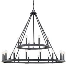 capital lighting 4910bi pearson black iron 24 light chandelier intended for awesome home 24 light chandelier prepare